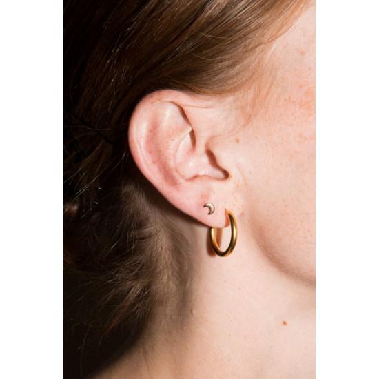 Online Sale Brandy Melville Gold Hoop Earrings