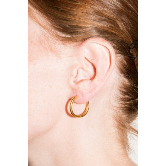 Online Sale Brandy Melville Gold Hoop Earrings