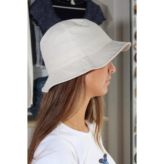 Online Sale Brandy Melville Ivory Bucket Hat
