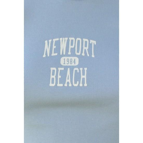 Online Sale Brandy Melville Ashlyn Newport Beach 1984 Top