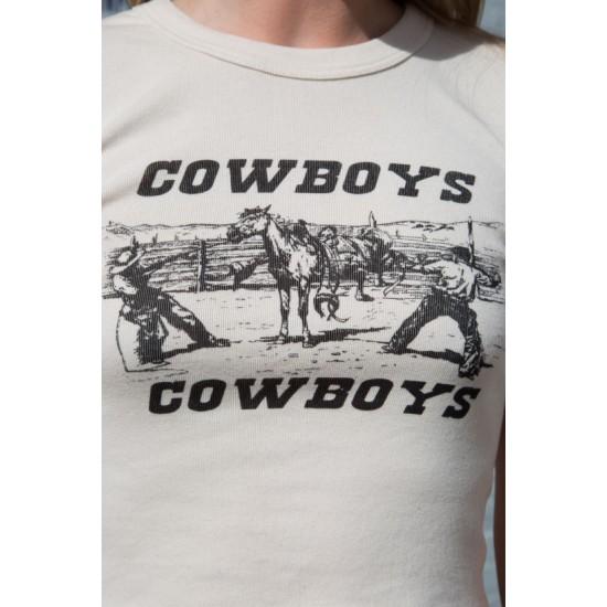 Online Sale Brandy Melville Ashlyn Cowboys Top