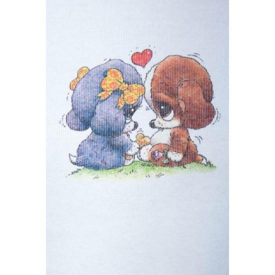 Online Sale Brandy Melville Ashlyn Puppy Love Top
