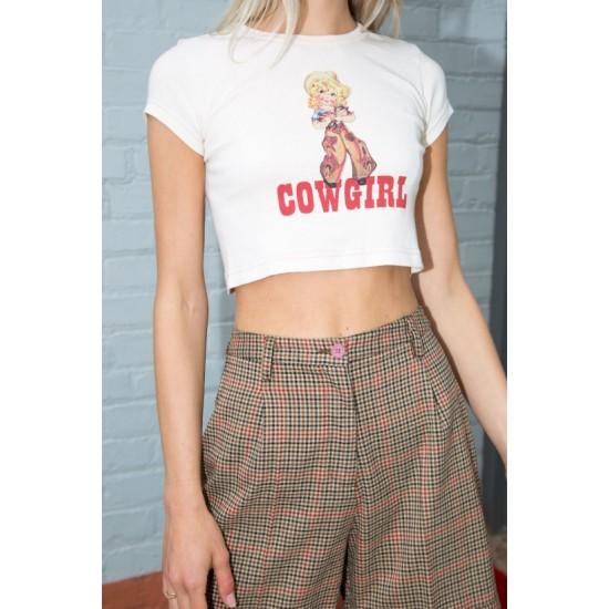 Online Sale Brandy Melville Ashlyn Cowgirl Top