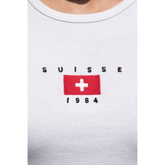 Online Sale Brandy Melville Ashlyn Suisse 1984 Top