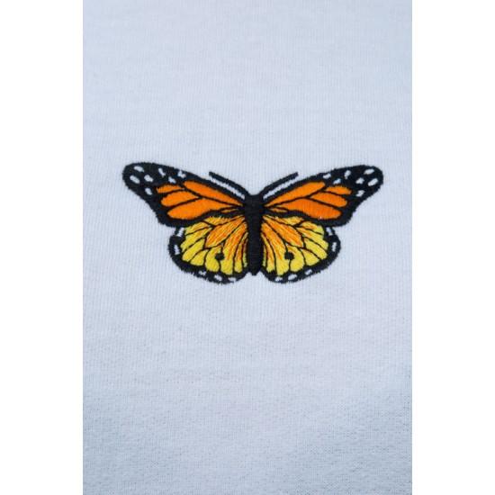 Online Sale Brandy Melville Tien Butterfly Hoodie