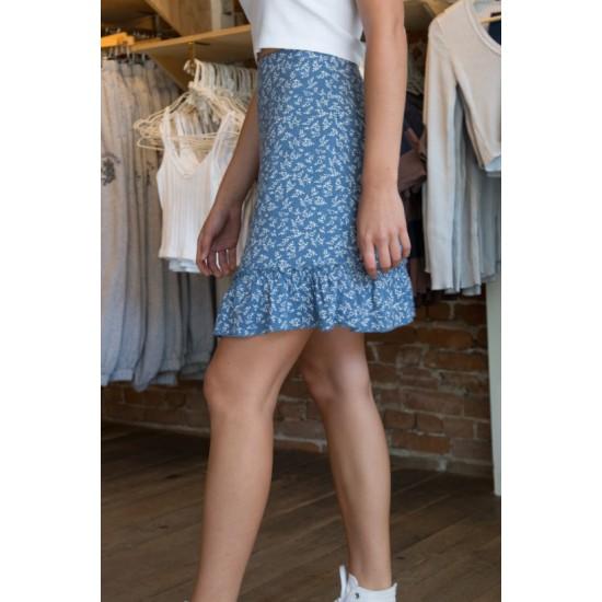 Online Sale Brandy Melville Cara Ruffle Skirt