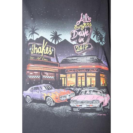 Online Sale Brandy Melville Rita Al's Burgers Top