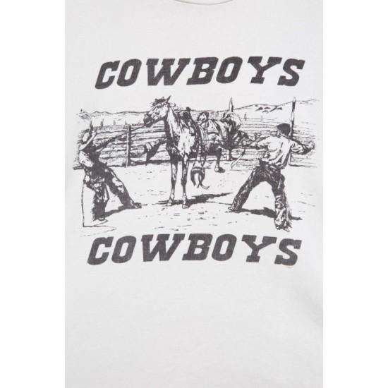 Online Sale Brandy Melville Rita Cowboys Top