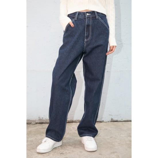 Online Sale Brandy Melville Talia Dark Wash Carpenter Jeans