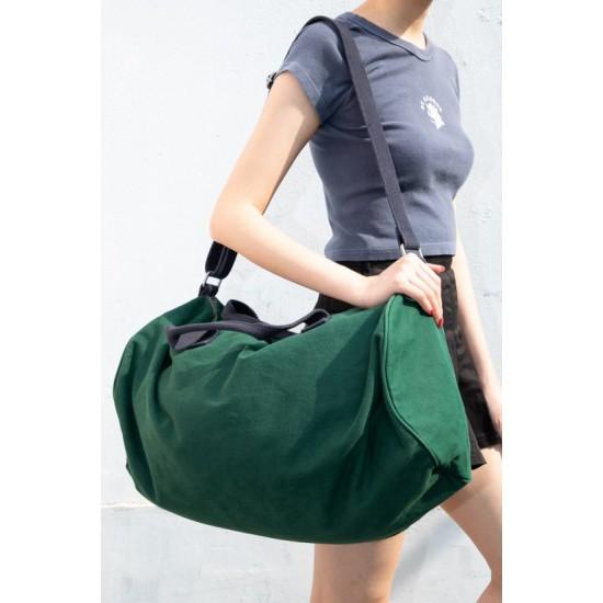 Online Sale Brandy Melville Green Duffle Bag