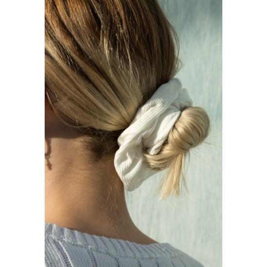Online Sale Brandy Melville White Scrunchie