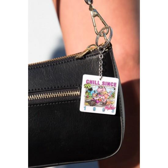 Online Sale Brandy Melville Chill Since 1993 Malibu Keychain